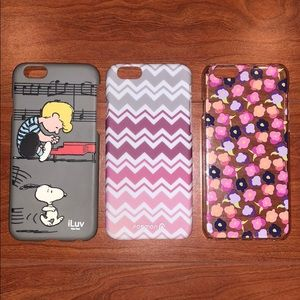 Accessories - Lot of 3 iPhone 6 cases